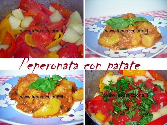 Peperonata con patate