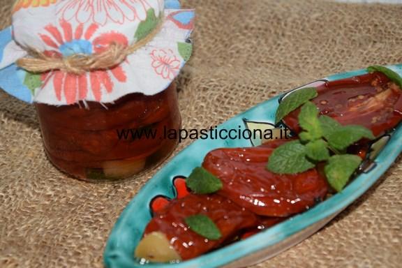 Pomodori essiccati sott'olio