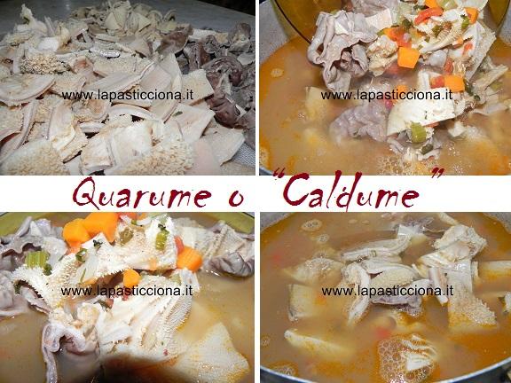 "Quarume o ""Caldume"""