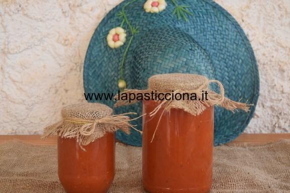 Salsa di pomodoro tipo ketchup