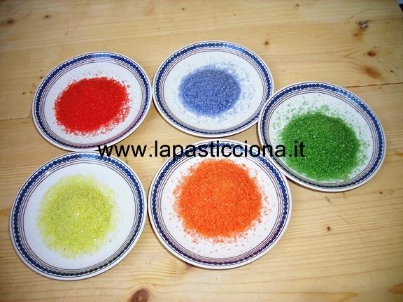 Zucchero colorato 9