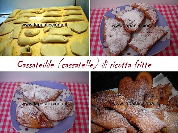 Cassatedde (cassatelle) di ricotta
