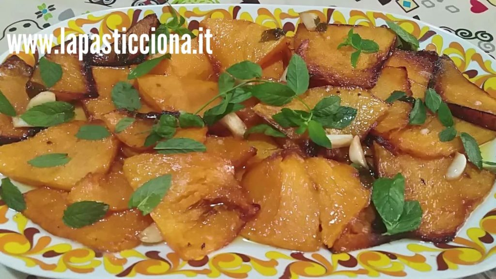 Zucca all'agrodolce (Ficatu ri sette cannoli)