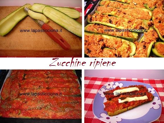 Zucchine ripiene 8