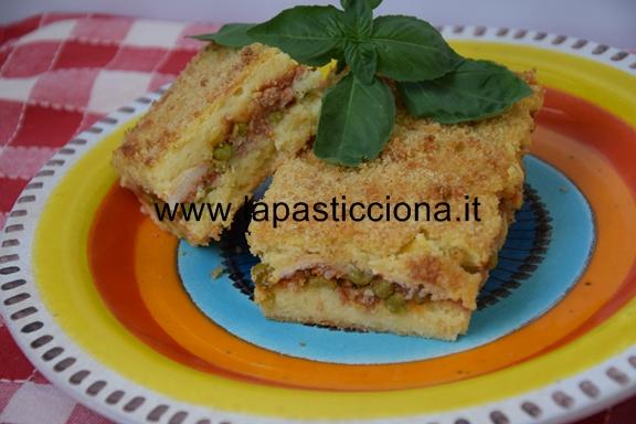 Gattò di patate con ragù alla siciliana