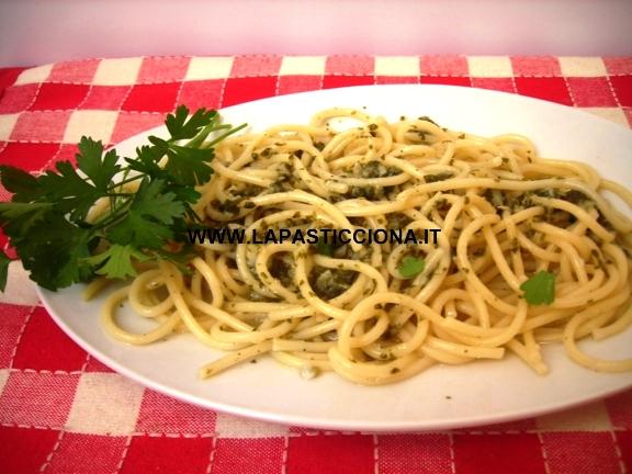 Spaghetti aglio e olio alla Palermitana