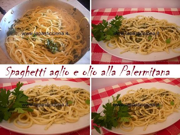 Spaghetti aglio e olio alla Palermitana 8