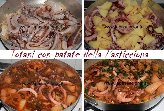 Totani con patate della Pasticciona
