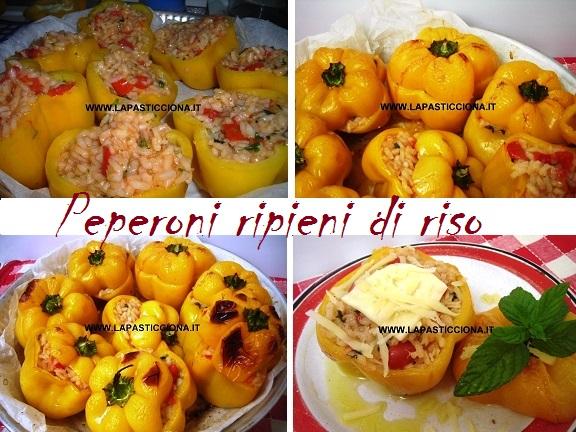 Peperoni ripieni di riso 11