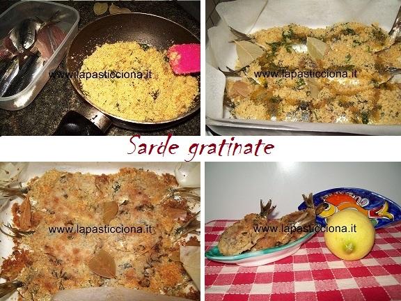 Sarde gratinate