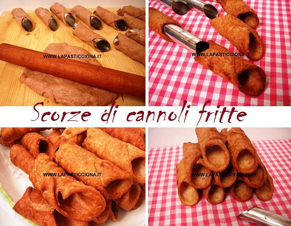Scorze di cannoli fritte 8