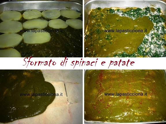 Sformato di spinaci e patate