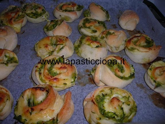 Rosette con zucchine e mozzarella