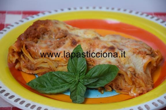 Pasticcio di lasagne con ragù alla siciliana