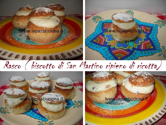 Rasco ( Biscotto di San Martino ripieno di ricotta)24