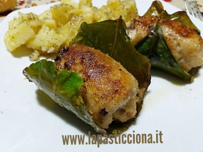 Involtini di pesce spada agli agrumi di Sicilia