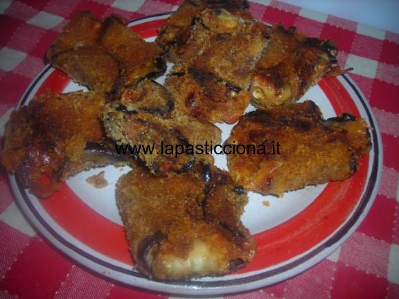 Fagottini di melanzane al forno 4