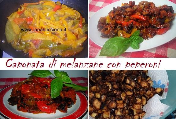Caponata di melanzane con peperoni 8