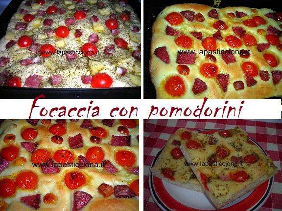Focaccia con pomodorini 6
