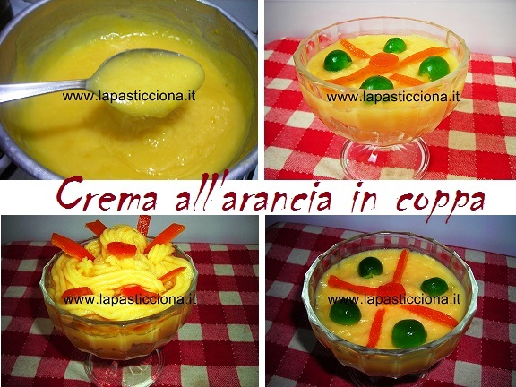 Crema all'arancia in coppa 8