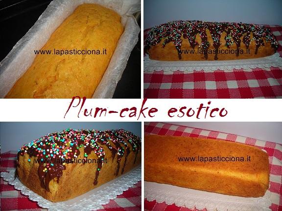Plum-cake esotico