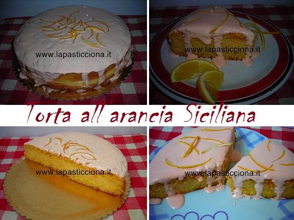 Torta all'arancia Siciliana