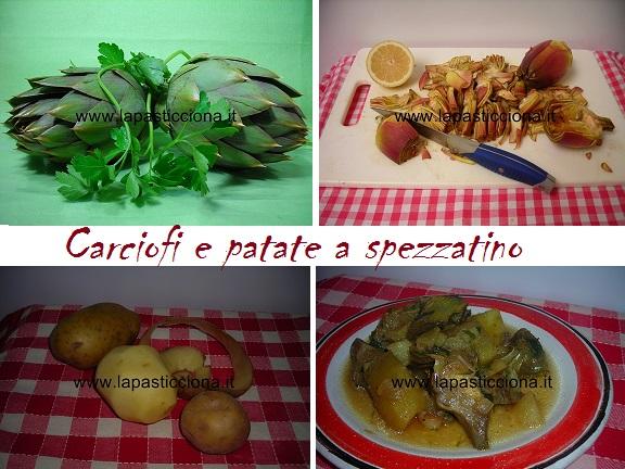 Carciofi e patate a spezzatino 3