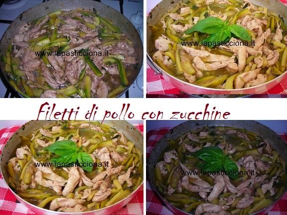 Filetti di pollo con zucchine 8