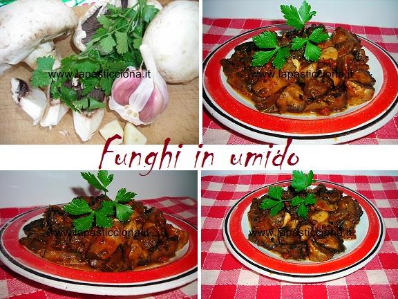 Funghi in umido