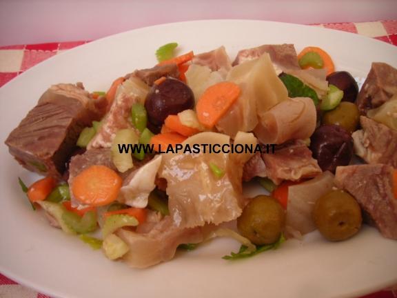 Carcagnola (lesso misto in insalata)
