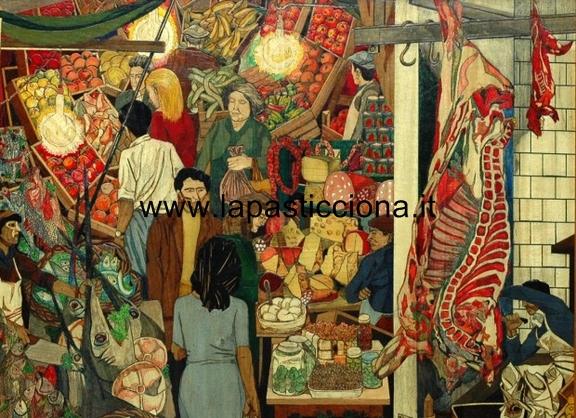 La Vucciria, celebre dipinto di Renato Guttuso
