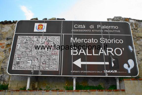 mercato storico di Ballaro'-Palermo