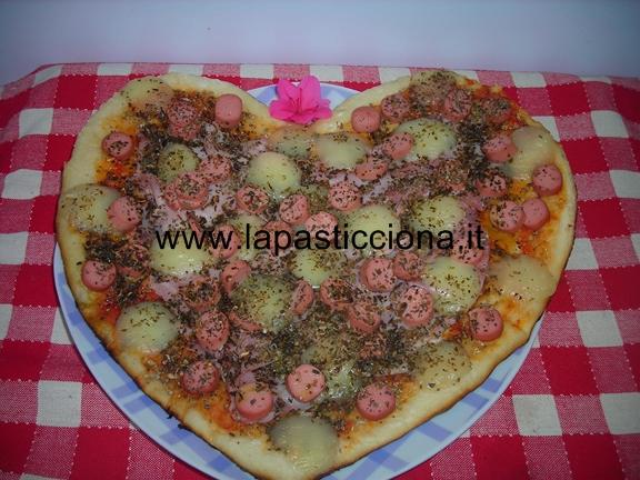 Pizza cuore di mamma