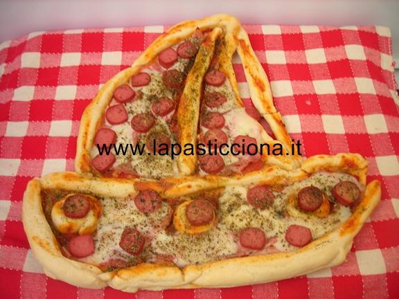 Barca di pizza