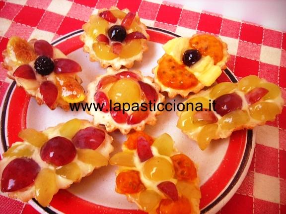 Tartellette con frutta di stagione 10