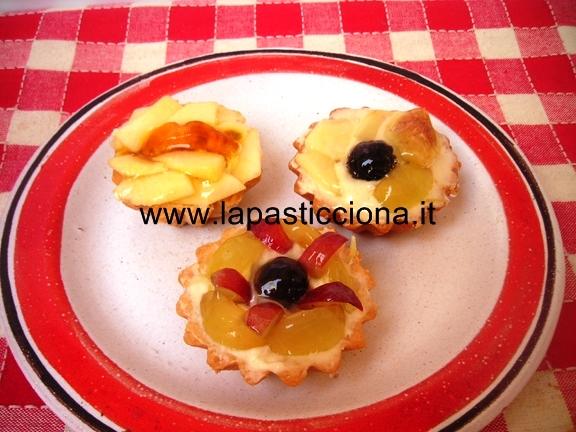 Tartellette con frutta di stagione 12