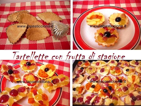 Tartellette con frutta di stagione 8