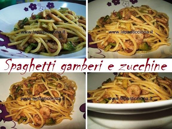 Spaghetti gamberi e zucchine 8