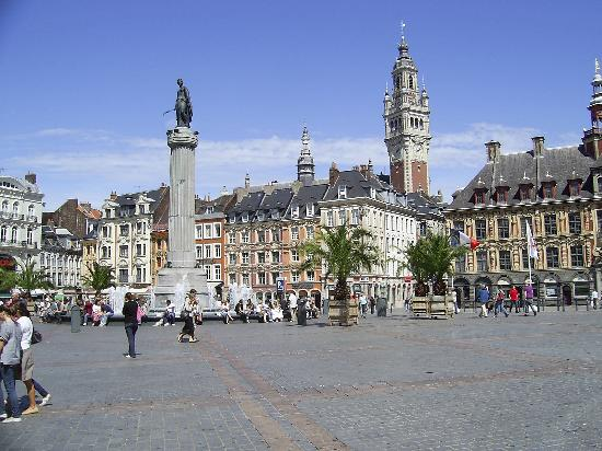 Lille Grand Place Charles de Gaulle