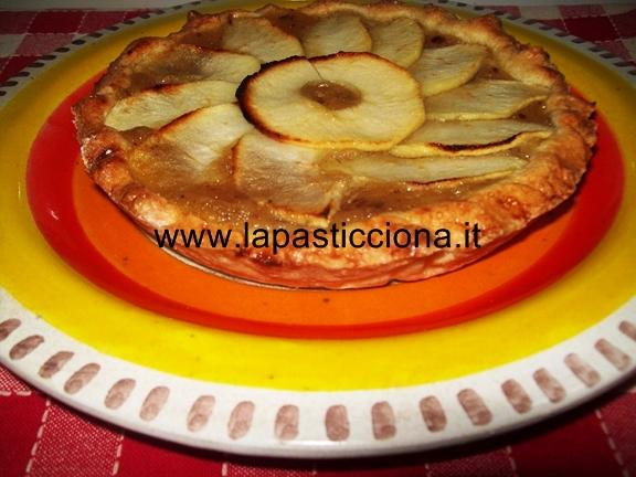Crostata di mele con frolla all'olio
