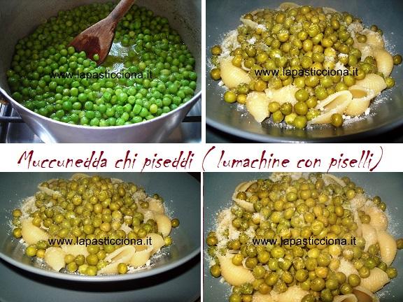 Muccunedda chi piseddi ( lumachine con piselli) 8