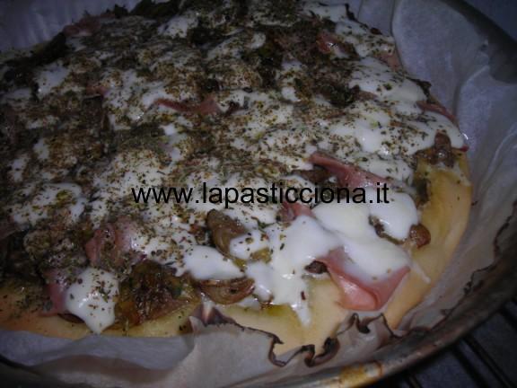 Pizza bianca alla villanella