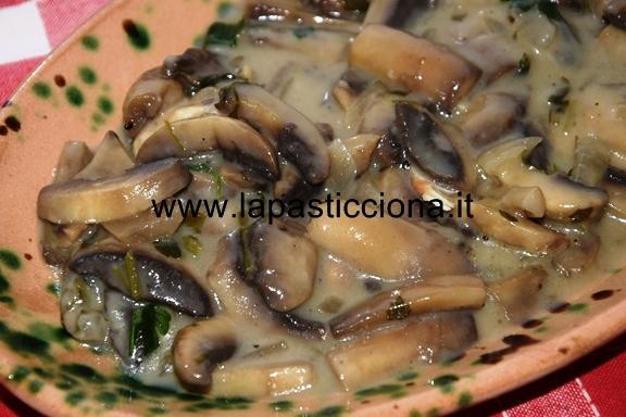 Funghi cremosi