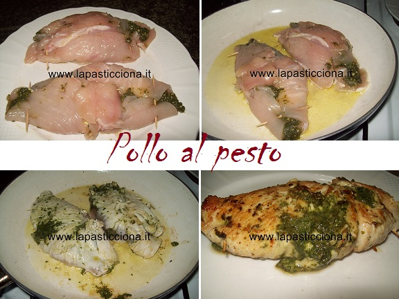 Pollo al pesto 2