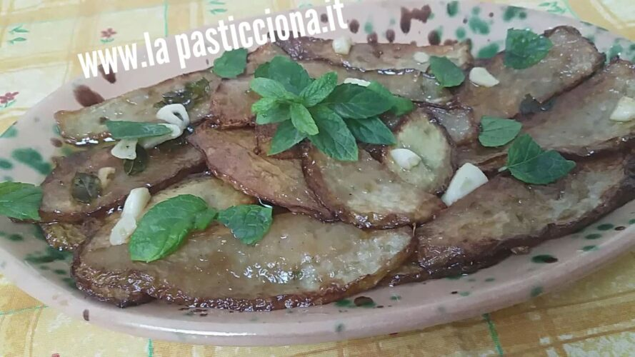 Zucchina centenaria (Chayote) all'agrodolce