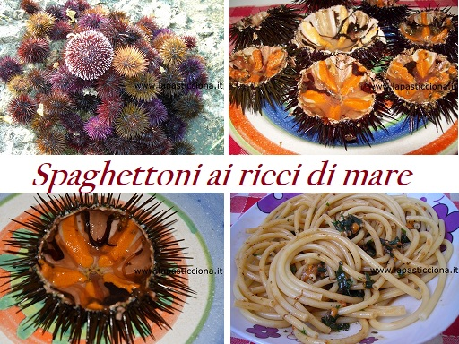 spaghettoni ai ricci di mare