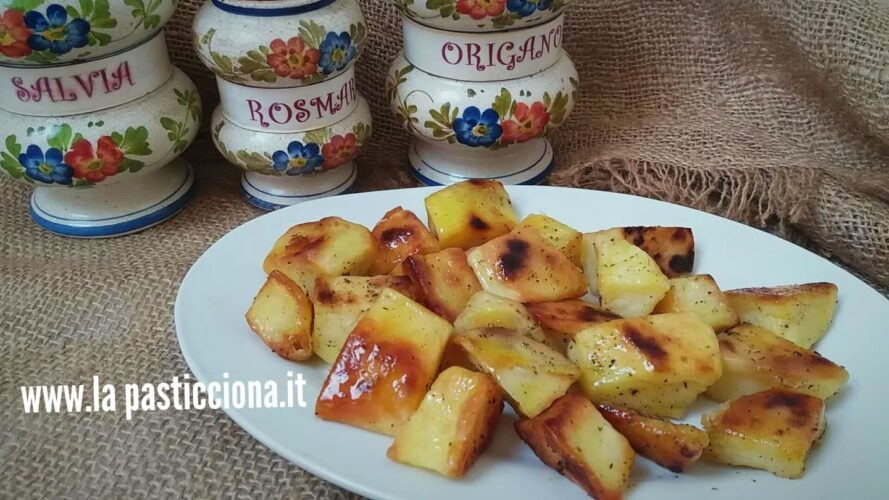 Patate arrosto croccanti