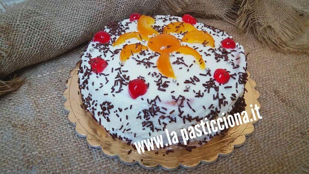 Torta Cassata siciliana semplice