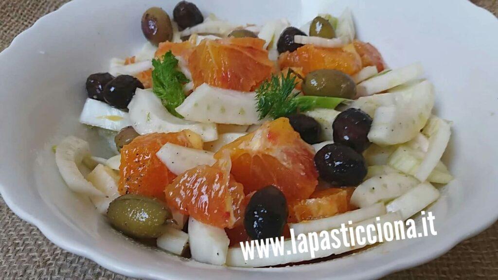 Insalata di finocchio e arance alla siciliana